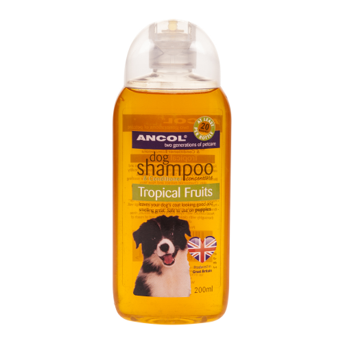 Ancol Tropical Fruits Dog Shampoo 200ml